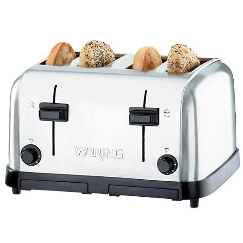 Waring Wct708 Four Compartment Pop Up Toaster Rekcello