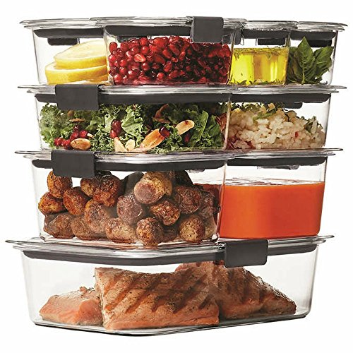 Rubbermaid Brilliance Pantry Airtight Food Storage